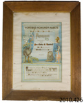 Certificate of appreciation [Chris O Randall]; Owaka and District Patriotic Society; 1918; 2010.426