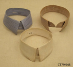 Collars, detachable; [?]; late 19th to mid 20th century; CT78.948