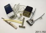 Equipment, shaving; 2011.192
