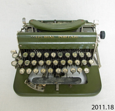 Typewriter; Imperial Typewriter Co Ltd; c1920s; 2011.18