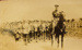 Postcard. Soldiers on road. WW1; 1918; 0000.0400