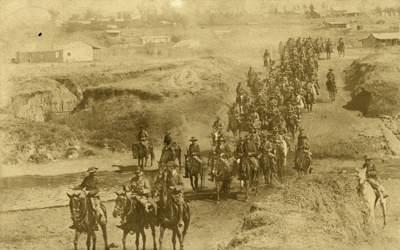 Photograph [Soldiers on horseback]; [?]; [?]; CT82.1465b