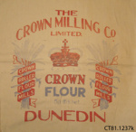 Bag, flour; Crown Milling Co Ltd; [?]; CT81.1237k
