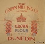 Bag, flour; Crown Milling Co Ltd; [?]; CT81.1237k