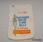Bag, flour; Canterbury Roller Flour Mills; [?]; CT4059d