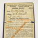 Ticket, season [New Zealand and South Seas Exhibition]; New Zealand and South Seas International Exhibition; 1925; CT86.1820e