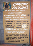 Sign [Catlins River Branch Railway]; [?]; 1971; 2011.217