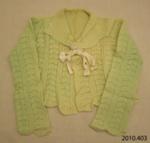 Bed-jacket; [?]; 1940; 2010.403