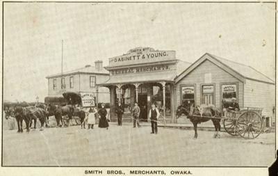Photograph [Smith Bros., Owaka]; [?]; 1909[?]; CT85.1748b