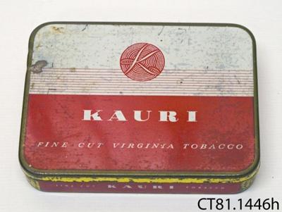 Tin, tobacco; St James's Tobacco Co (N.Z.) Ltd; [?]; CT81.1446h