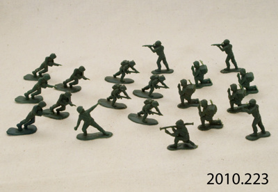 Toy soldiers; [?]; [?]; 2010.223