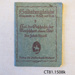 Book, German book, WWI; [?]; Early 20th century; CT81.1508k