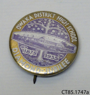 Badge, commemorative; [?]; c1935; CT85.1747a