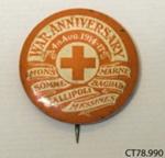 Badge, commemorative; [?]; c1918; CT78.990