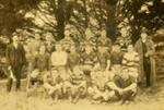 Photograph [Tahakopa football team]; Eastes & Kerr, Owaka; c1920s; CT79.1256c