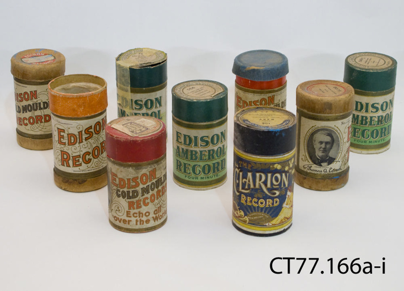 Cylinders Phonograph Edison Records C1905 1913 CT77166a I