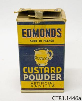 Box, custard powder; T J Edmonds Ltd; [?]; CT81.1446a