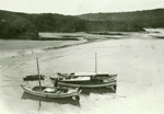 Photograph [Fishing launches, Tautuku]; [?]; early 1920s; CT86.1832a19