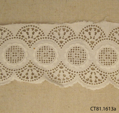 Fragment, lace; [?]; [?]; CT81.1613a