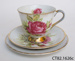 Teacup and saucers; CT82.1626c