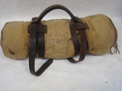 Bed roll; World War 2; 1941; 2013.34