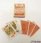 Cards, playing; The United States Playing Card Co; 1922; CT78.958