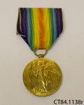 Medal, military ; [?]; c1919; CT84.1138r