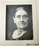 Photograph [Margaret Blair]; [?]; c1890s; 2011.119.4