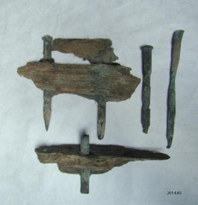 Fragments; shipwreck ; [?]; 19th century; 2014.85