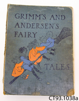 Storybook [Grimm's and Andersen's Fairy Tales]; Stratton, Helen (Ms); [?]; CT93.1038a