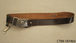 Belt, Girl Guide; Girl Guides Association; 20th century; CT89.1874b3