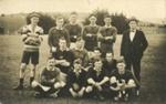 Photograph [Football team]; James Eastes; [?]; CT80.1399b