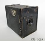 Camera, box; Aktien-Gesellschaft für Anilin-Fabrikation (AGFA); 1933-1938; CT01.3055.1