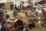 Photograph [Catlins Area School, sand saucers]; [?]; [?]; 2010.765
