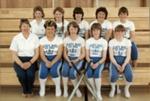 Photograph [Catlins Area School softball team]; [?]; c1980s-1990s; CT4583.6