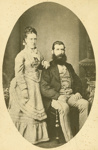 Photograph [Mr and Mrs Sutherland]; [?]; c1874; CT97.2078b