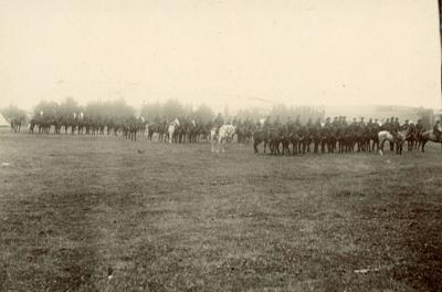 Photograph [Mounted Rifles?]; [?]; [?]; 2010.752