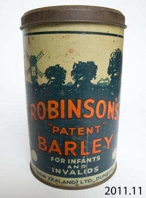 Tin; Reckitt & Coleman (New Zealand) Ltd; September 1940; 2011.11