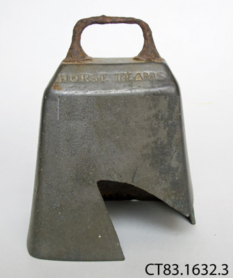 Bell, animal; CT83.1632.3