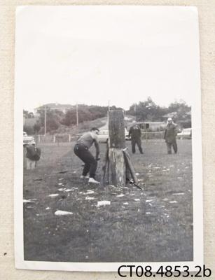 Photograph [Stan Wybrow / Bob Monteith]; [?]; 1965; CT08.4853.2b