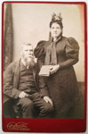 Photograph [Daniel and Mary McIntosh]; Burton Brothers; c1890s; CT04.4590d