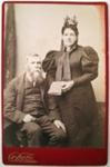 Photograph [Daniel and Mary McIntosh]; Burton Brothers; c1890s; CT04.4590d