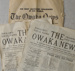 The Owaka News, 1930s; The Owaka News; 1932; CT08.4807a