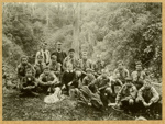 Photograph [Boy Scouts at Jacks Blow Hole]; [?]; c1912-14; CT77.303