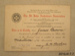 Certificate of achievement [James Macalister Brown]; St John Ambulance Association; 1942; 2010.417.7.4