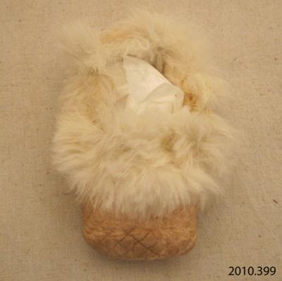 Shoe, baby; [?]; [?]; 2010.399