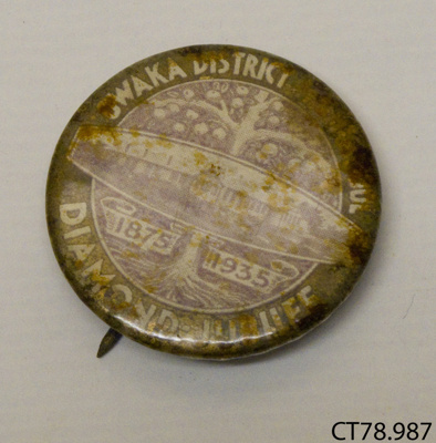 Badge, commemorative; [?]; c1935; CT78.987