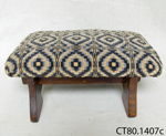 Footstool ; CT80.1407c
