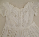Christening gown; [?]; c1870s; CT78.905c