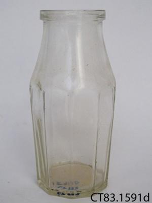 Bottle, pickle; Australian Glass Manufacturing Co; CT83.1591d